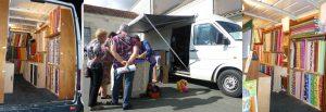 Camion-magasin de tissus patchwork