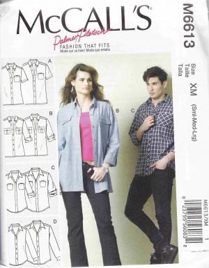 patron couture pantalon mc call M6613