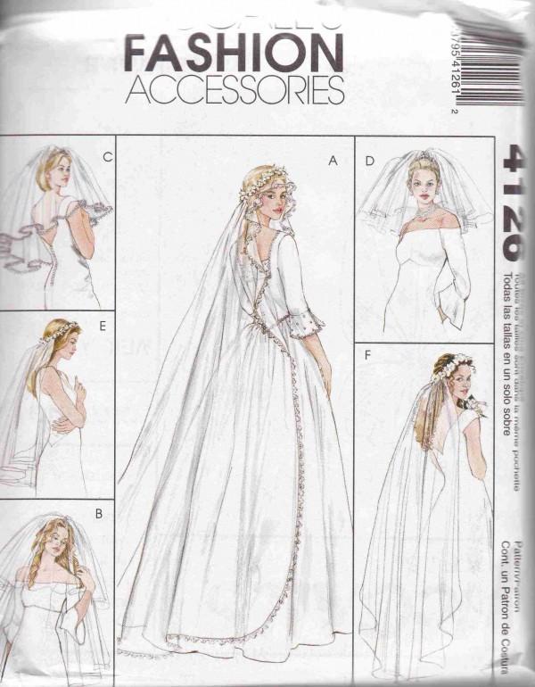 patron couture robe de marie mc call M4126