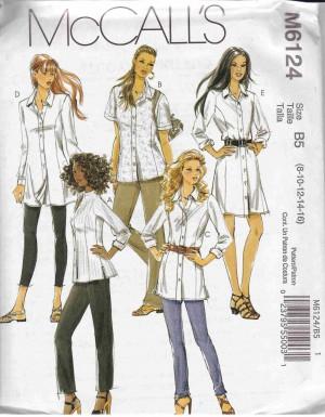 patron couture robe mc call M6124
