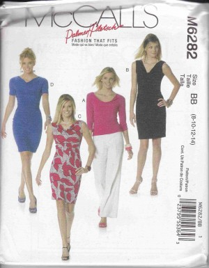 patron couture robe mc call M6282