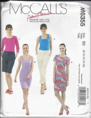 patron couture robe mc call M6355