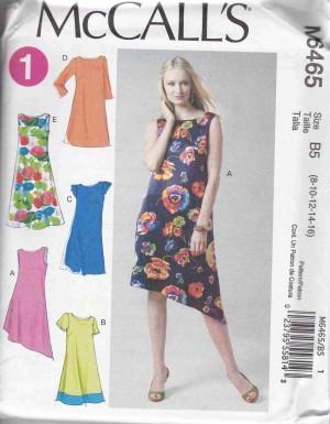 patron couture robe mc call M6465