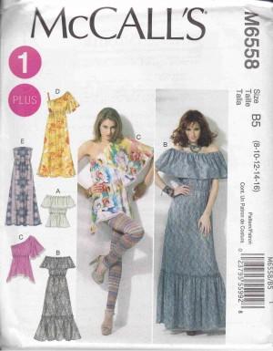 patron couture robe mc call M6558