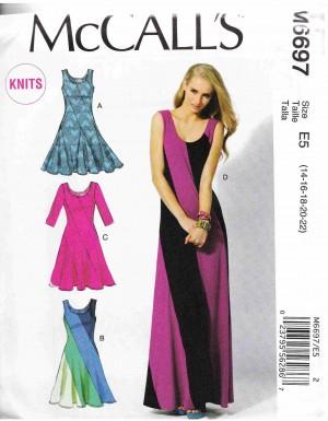 patron couture robe mc call M6697