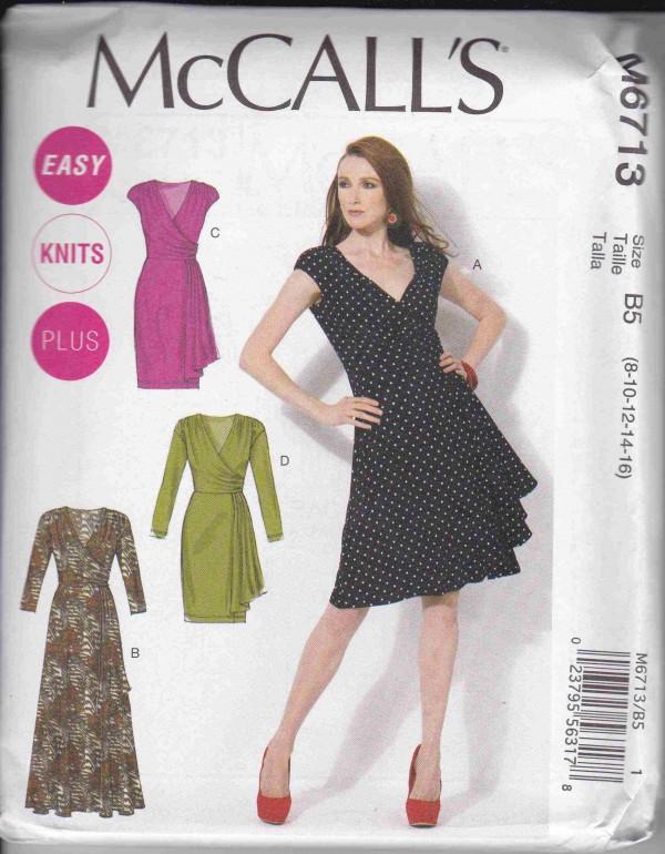 patron couture robe mc call M6713