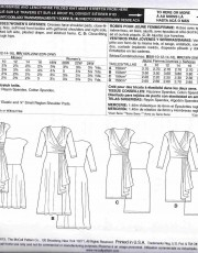 patron couture robe mccall M6713