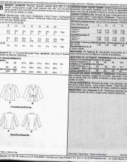 patron couture veste manteaux mccall M5668
