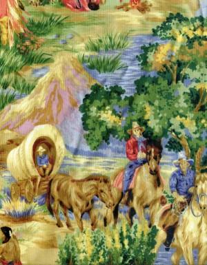 tissu-patchwork-animaux-chevaux-indiens-334-co