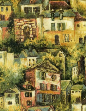 tissu-patchwork-fabriquilt-renoir-village-1040-co