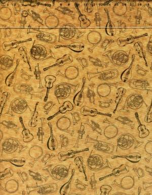 tissu-patchwork-makower-symphony-instruments-837-co