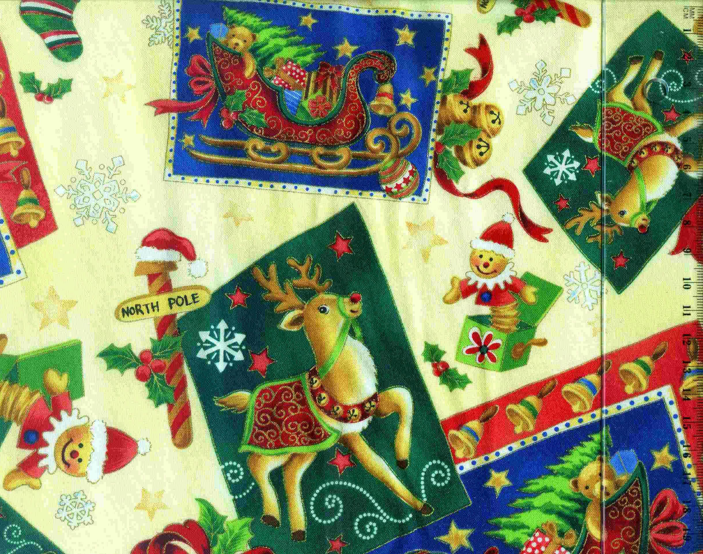 tissu patchwork no l dorures coq en patch le sp cialiste du patchwork 2500 tissus patchwork. Black Bedroom Furniture Sets. Home Design Ideas