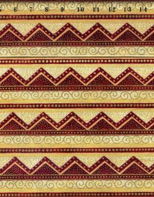 tissu-patchwork-hoffman-merry-merry-style-noel-dorure-17-002