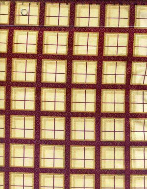 tissu-patchwork-hoffman-merry-merry-style-noel-dorure-17-003-co