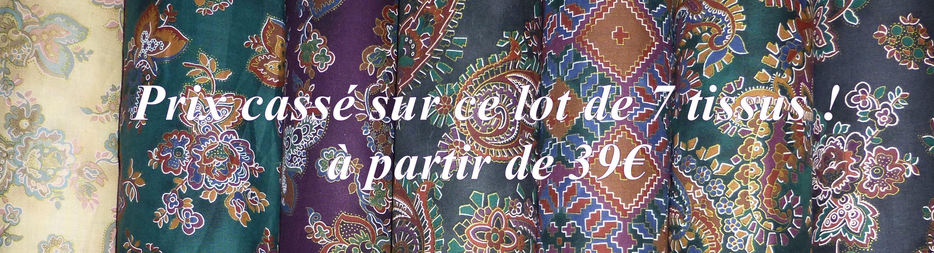 Un grand choix de tissus patchwork. Christine B. (28)